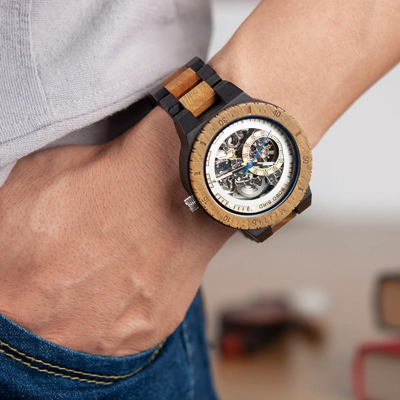 Montres en bois The Wood Empire